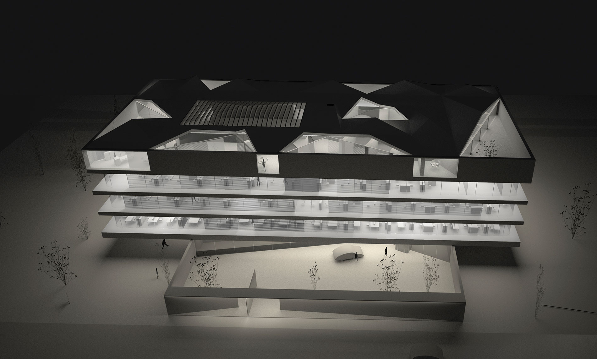bel-administrative headquarter,model