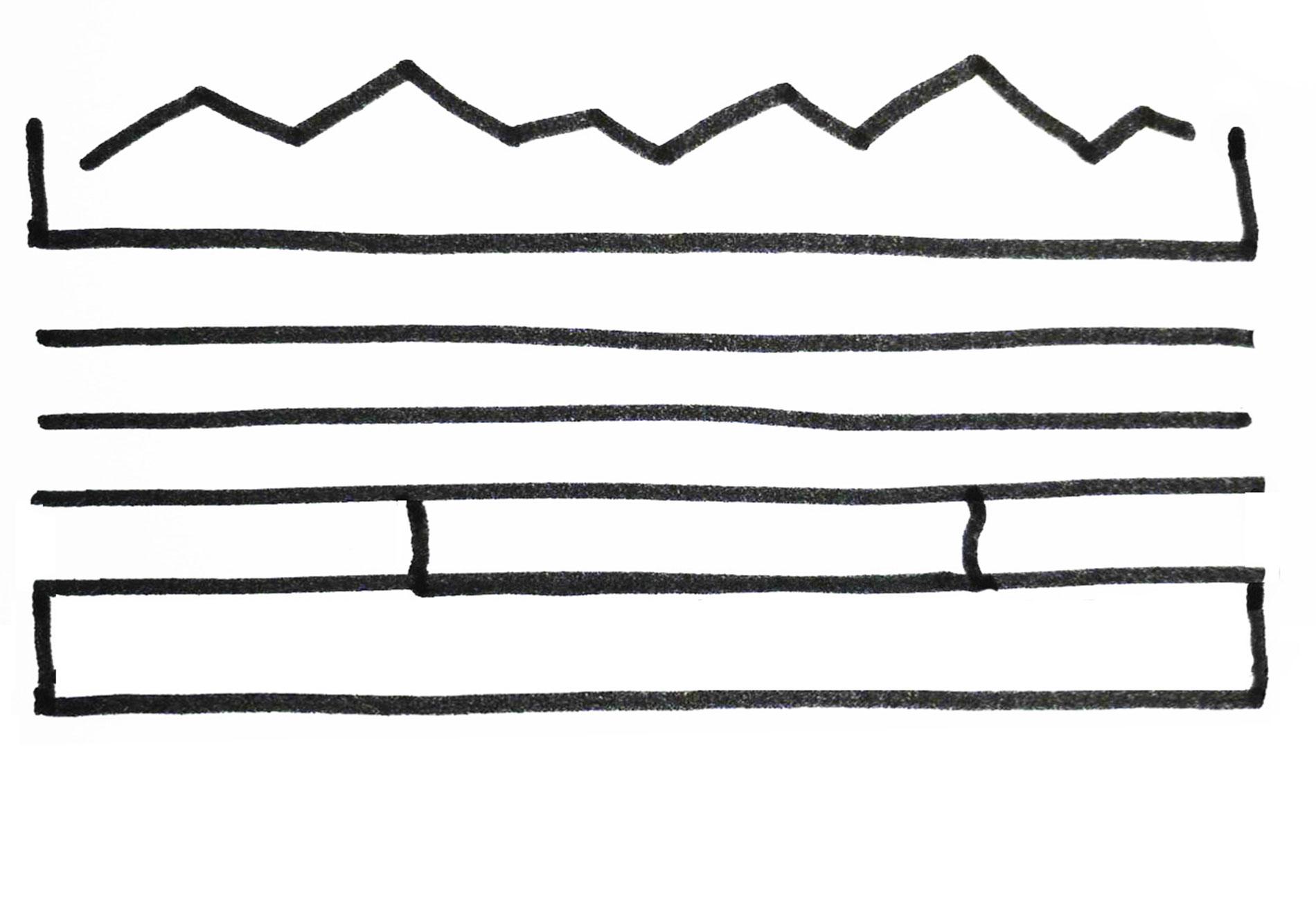 bel-administrative headquart, sketch