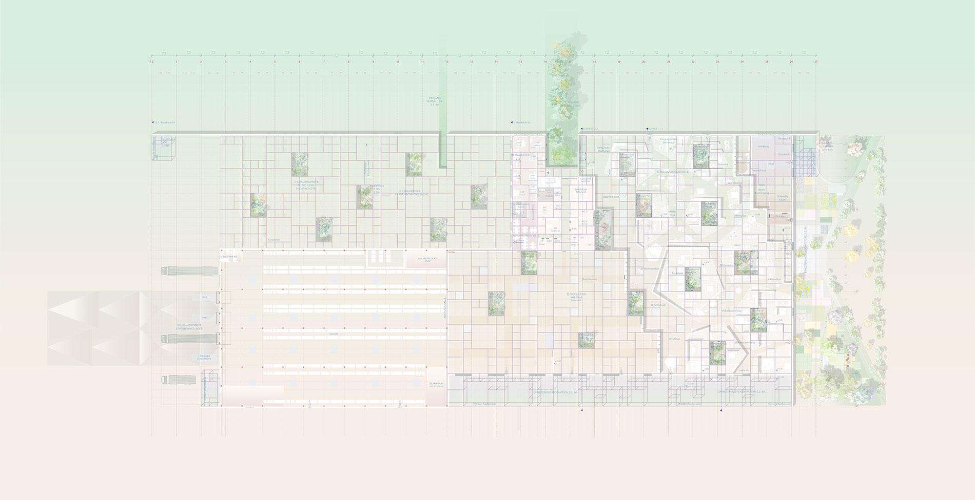 Grüne erde architectural plan