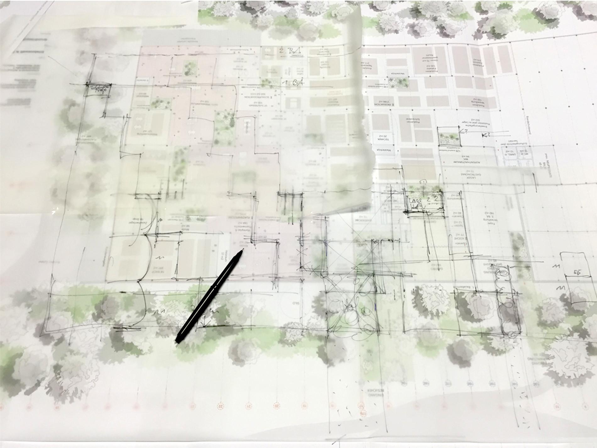 Grüne erde sketch
