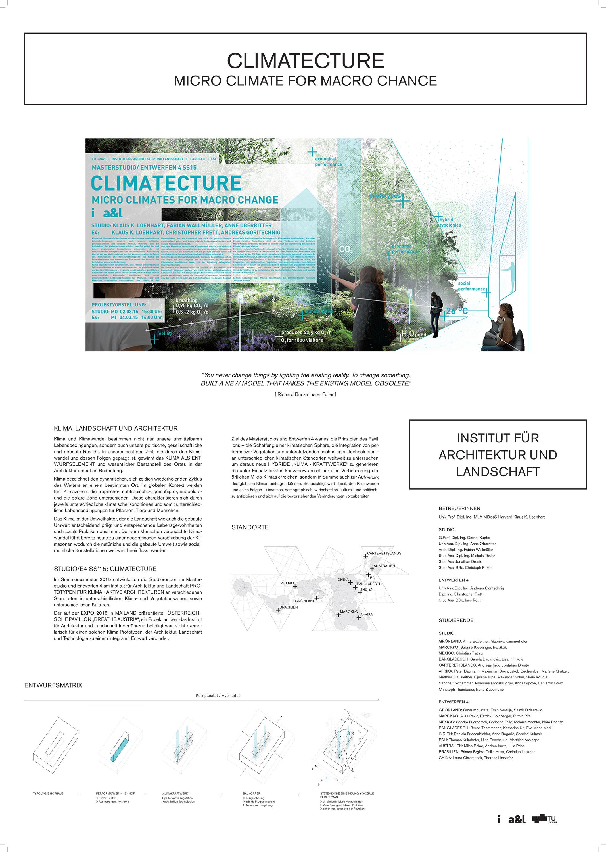 CLIMATECTURE