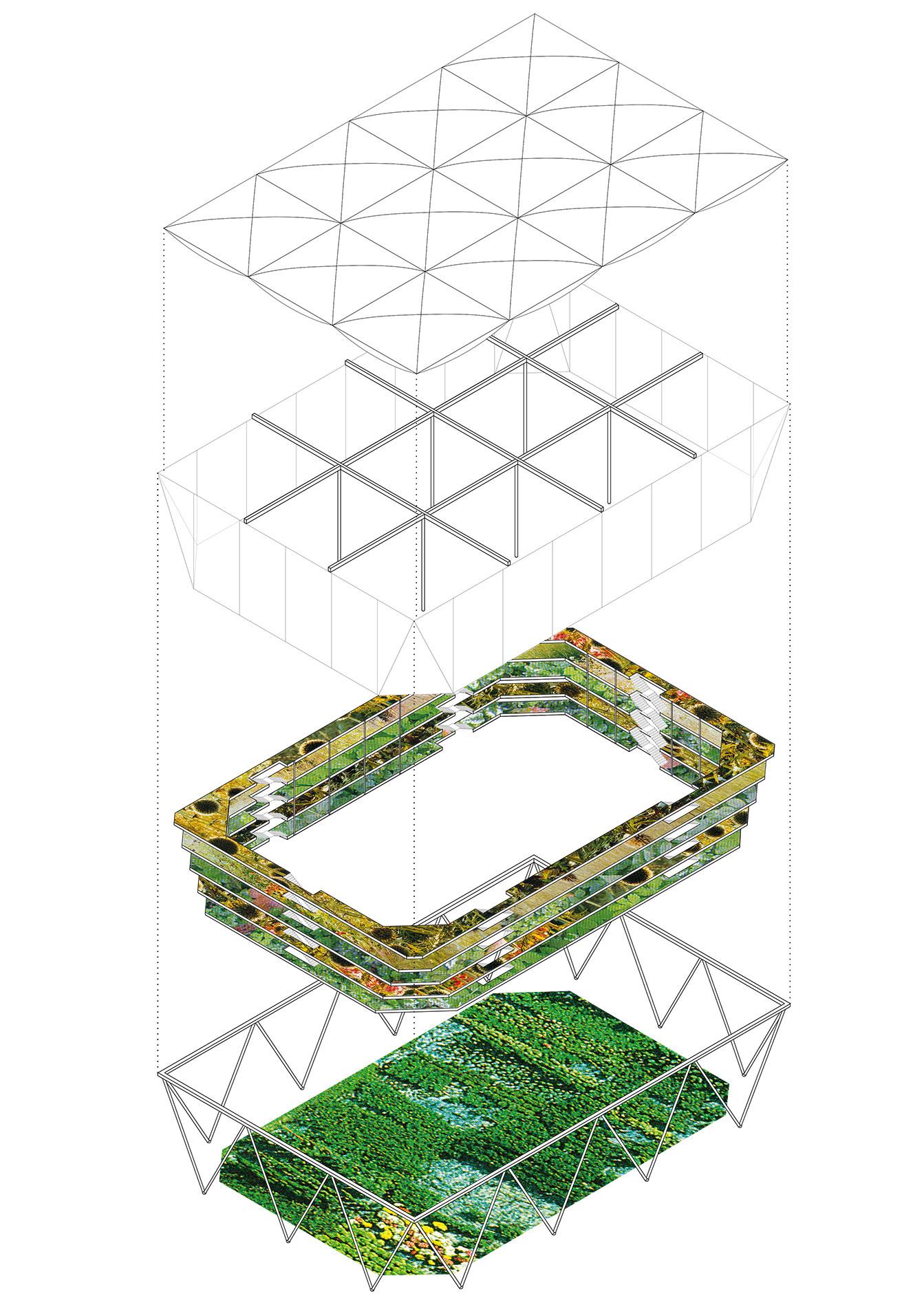 olympic village munich isometric