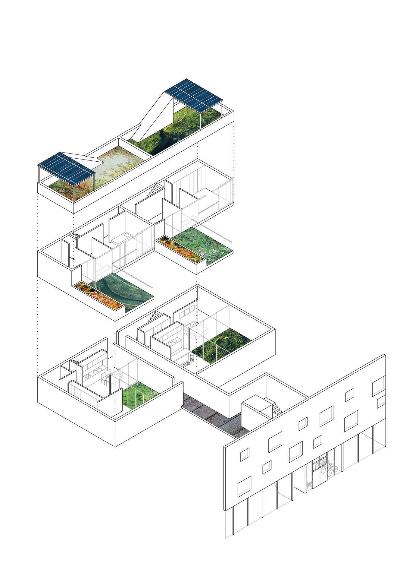 olympic village munich diagram