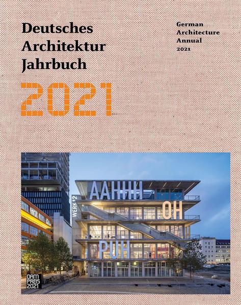 Deutsches Architektur Jahrbuch 2021 cover